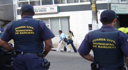 Guarda Civil Municipal de Barueri prende ladrões que fizeram arrastão em Empresa